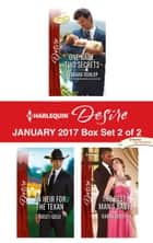 Harlequin Desire January 2017 - Box Set 2 of 2 - An Anthology ekitaplar by Barbara Dunlop, Kristi Gold, Karen Booth