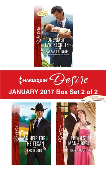 Harlequin Desire January 2017 - Box Set 2 of 2 - An Anthology eBook by Barbara Dunlop,Kristi Gold,Karen Booth