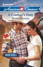 A Cowboy's Duty ebook by Marin Thomas