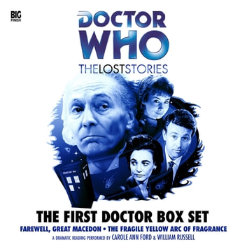 First Doctor Box Set audiobook by Moris Farhi,adapted by Nigel Robinson