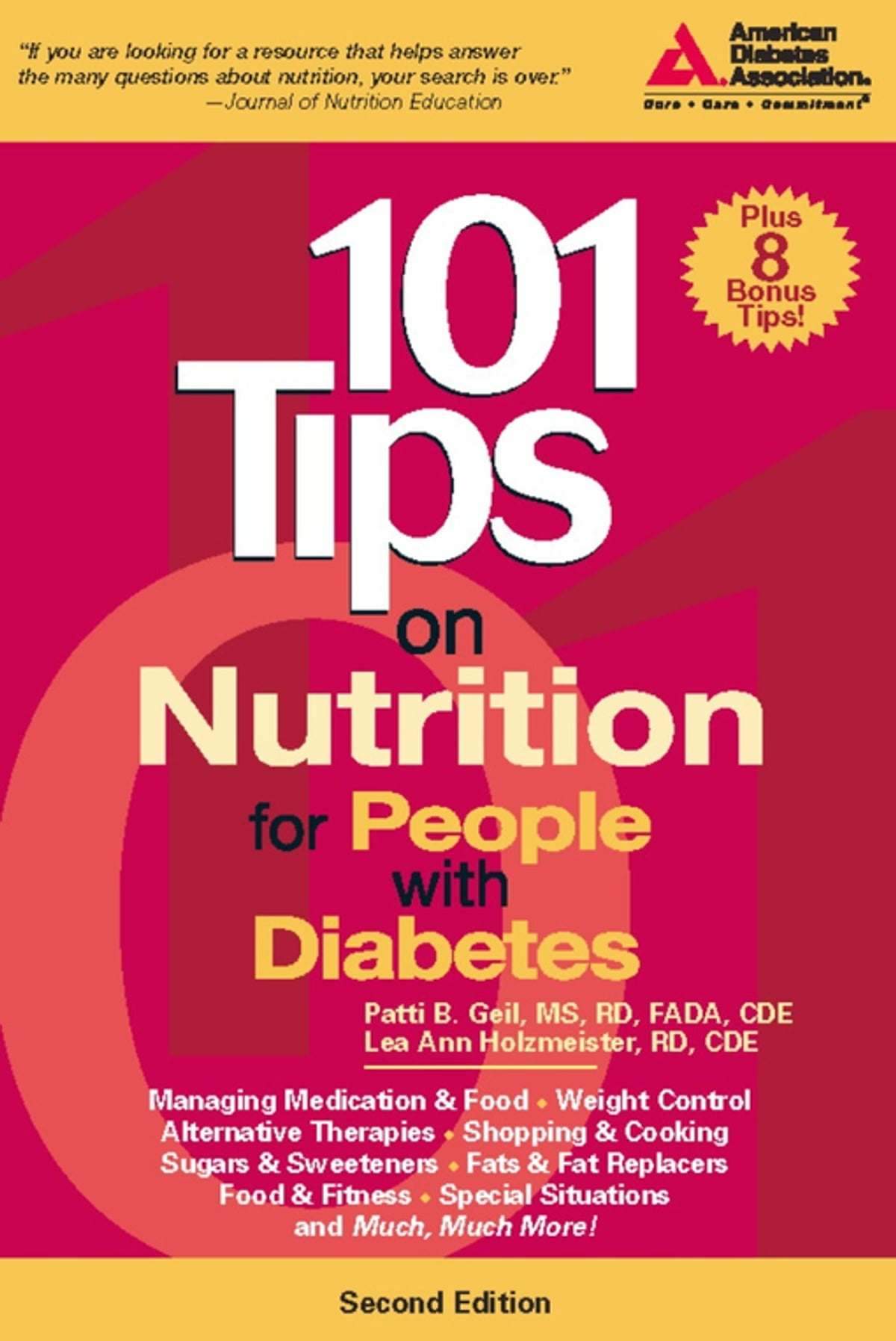 101 Tips on Nutrition for People with Diabetes eBook by Patti B. Geil, R.D.  - 9781580404044 | Rakuten Kobo