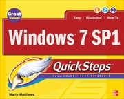 Windows 7 SP1 QuickSteps ebook by Marty Matthews
