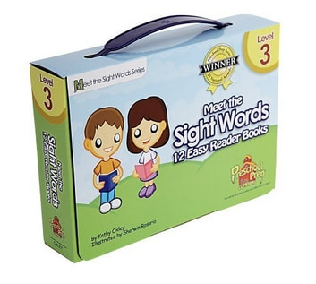 Meet the Sight Words Level 3 Easy Reader Books (set of 12 books) ebook by Kathy Oxley