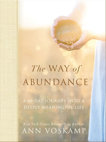 The Way of Abundance - A 60-Day Journey into a Deeply Meaningful Life ebook by Ann Voskamp