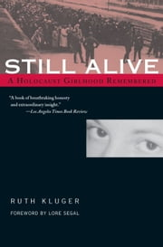 Still Alive - A Holocaust Girlhood Remembered ebook by Ruth Kluger