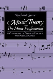 Music Theory for the Music Professional ebook by Richard Sorce