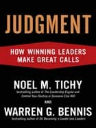 Judgment ebook by Noel M. Tichy,Warren G. Bennis