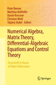 Numerical Algebra, Matrix Theory, Differential-Algebraic Equations and Control Theory - Festschrift in Honor of Volker Mehrmann ebook by Peter Benner,Matthias Bollhöfer,Daniel Kressner,Christian Mehl,Tatjana Stykel