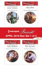 Harlequin Presents April 2016 - Box Set 1 of 2 - The Sicilian's Stolen Son\Seduced into Her Boss's Service\A Diamond Deal with the Greek\One Night to Wedding Vows ebook by Lynne Graham, Cathy Williams, Maya Blake,...
