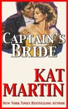 Captain's Bride ebook by Kat Martin
