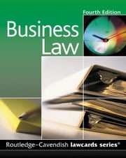 Cavendish: Business Lawcards ebook by Routledge-Cavendish