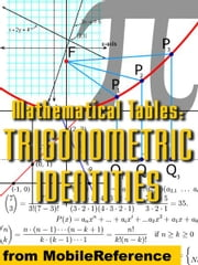 Mathematical Tables: Trigonometric Identities (Mobi Study Guides) ebook by MobileReference