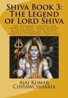 Shiva Book 3: The Legend of Lord Shiva - The Legend of Shiva, Book 3, #3 ebook by Ajai Kumar Chhawchharia