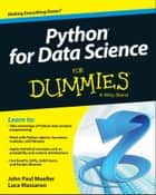 Python for Data Science For Dummies eBook by John Paul Mueller, Luca Massaron