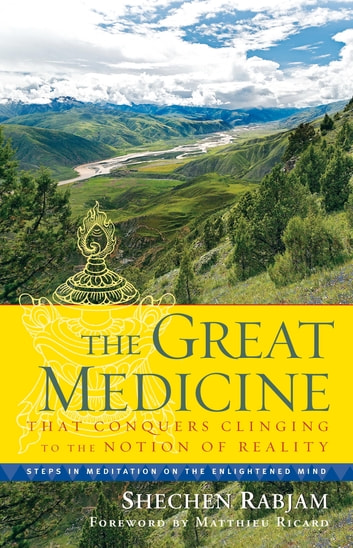 The Great Medicine That Conquers Clinging to the Notion of Reality - Steps in Meditation on the Enlightened Mind ebook by Shechen Rabjam
