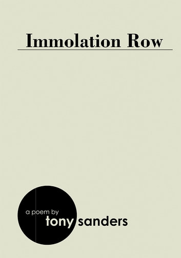 IMMOLATION ROW ebook by Tony Sanders