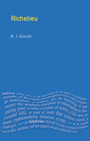 Richelieu ebook by R J Knecht