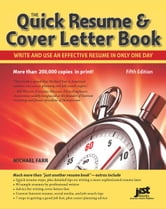 The Quick Resume & Cover Letter Book ebook by Michael Farr
