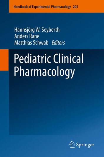 Pediatric Clinical Pharmacology ebook by