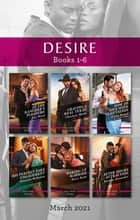 Desire Box Set Mar 2021/At the Rancher's Pleasure/Craving a Real Texan/How to Live with Temptation/His Perfect Fake Engagement/Waking Up ebook by Charlene Sands, Fiona Brand, Joss Wood,...