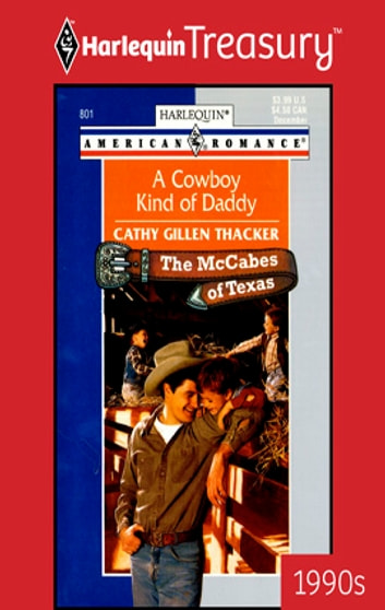A Cowboy Kind of Daddy ebook by Cathy Gillen Thacker