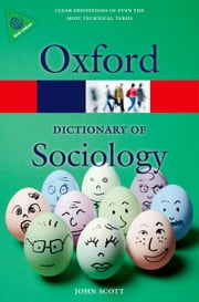 A Dictionary of Sociology ebook by John Scott