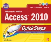 Microsoft Office Access 2010 QuickSteps ebook by John Cronan