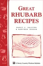 Great Rhubarb Recipes ebook by Marynor Jordan,Nancy C. Ralston