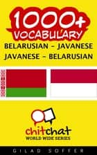 1000+ Vocabulary Belarusian - Javanese ebook by Gilad Soffer