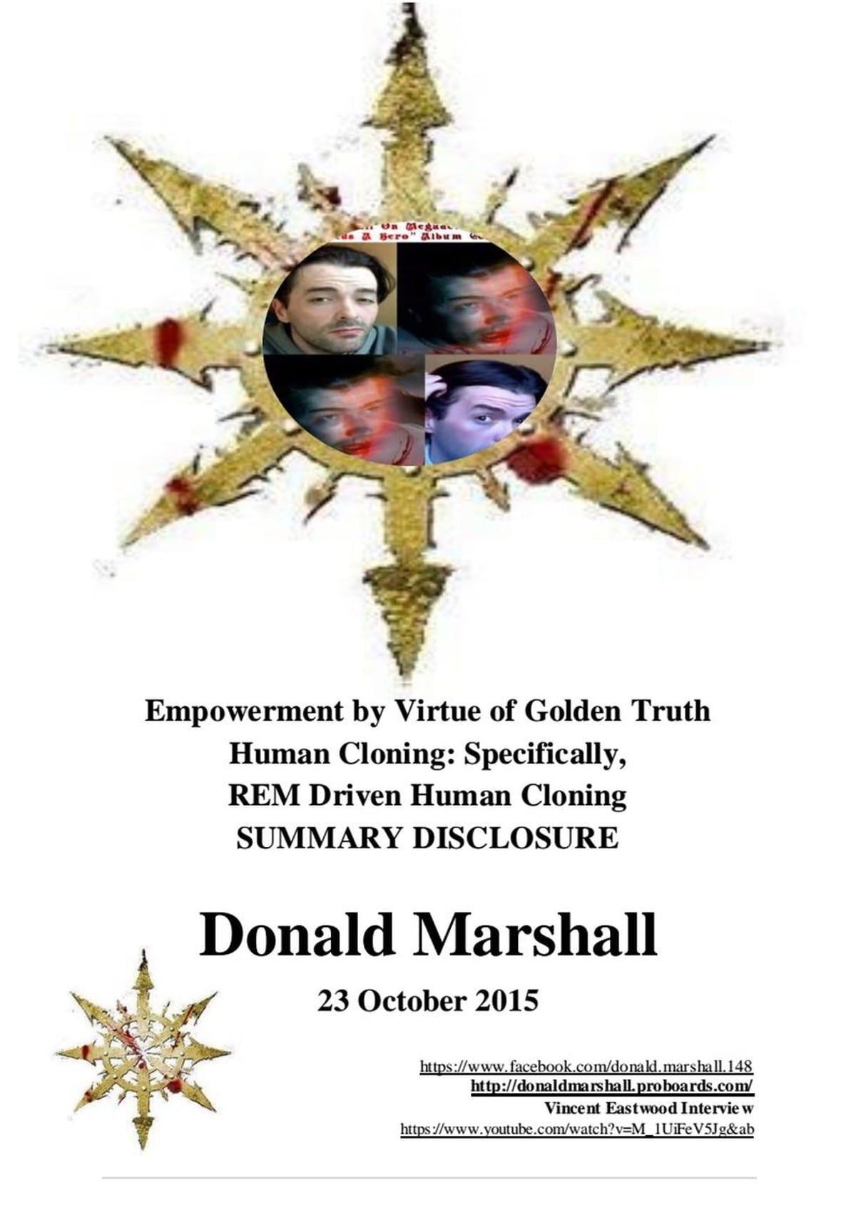 Empowerment by Virtue of Golden Truth, Human Cloning: Specifically R.E.M  Driven Human Cloning, Summary Disclosure eBook by Donald Marshall -  9781386030348 | Rakuten Kobo United States