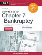 How to File for Chapter 7 Bankruptcy ebook by Stephen Elias,Albin Renauer,Robin Leonard