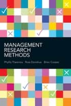 Management Research Methods ebook by Phyllis Tharenou,Ross Donohue,Brian  Cooper