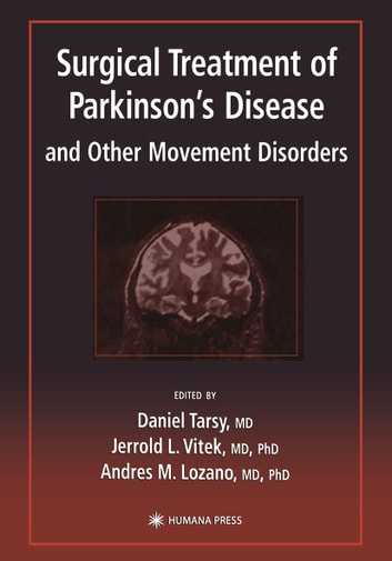 Surgical treatment of parkinsons disease and other movement surgical treatment of parkinsons disease and other movement disorders ebook by fandeluxe Images