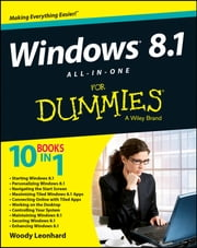 Windows 8.1 All-in-One For Dummies ebook by Woody Leonhard