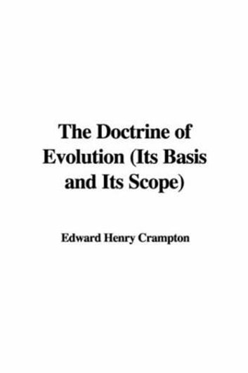 The Doctrine Of Evolution ebook by Henry Edward Crampton