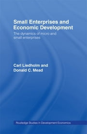 Small Enterprises and Economic Development - The Dynamics of Micro and Small Enterprises ebook by Carl E. Liedholm,Donald C. Mead