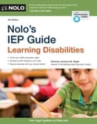 Nolo's IEP Guide ebook by Lawrence M. Siegel