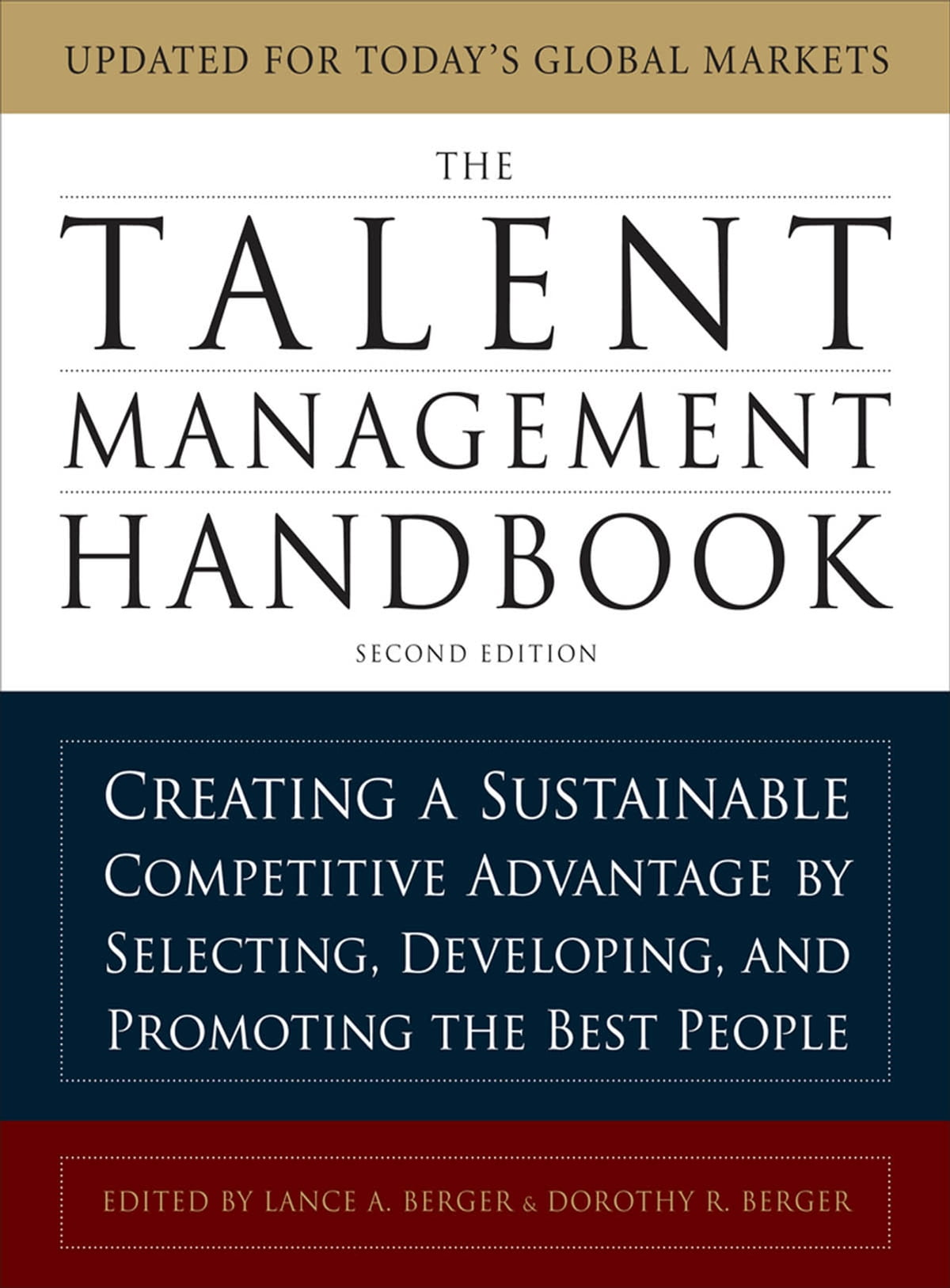 The Talent Management Handbook, Second Edition: Creating a Sustainable  Competitive Advantage by Selecting, Developing, and Promoting the Best  People eBook ...