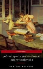 50 Masterpieces you have to read before you die vol: 1 ekitaplar by Lewis Carroll, Mark Twain, Arthur Conan Doyle,...