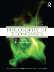 Philosophy of Economics - A Contemporary Introduction ebook by Julian Reiss