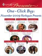 One-Click Buy: November 2009 Harlequin Presents ebook by Chantelle Shaw,Miranda Lee,Sandra Marton,Kim Lawrence,Anne McAllister,Natalie Rivers