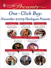 One-Click Buy: November 2009 Harlequin Presents - The Greek Billionaire's Innocent Princess\The Billionaire's Bride of Innocence\Raffaele: Taming His Tempestuous Virgin\Desert Prince, Blackmailed Bride\One-Night Mistress...Convenient Wife\The Diakos Baby Scandal ebook by Chantelle Shaw, Miranda Lee, Sandra Marton,...