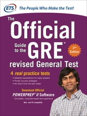 GRE The Official Guide to the Revised General Test, Second Edition ebook by Kobo.Web.Store.Products.Fields.ContributorFieldViewModel