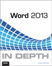 Word 2013 In Depth ebook by Faithe Wempen
