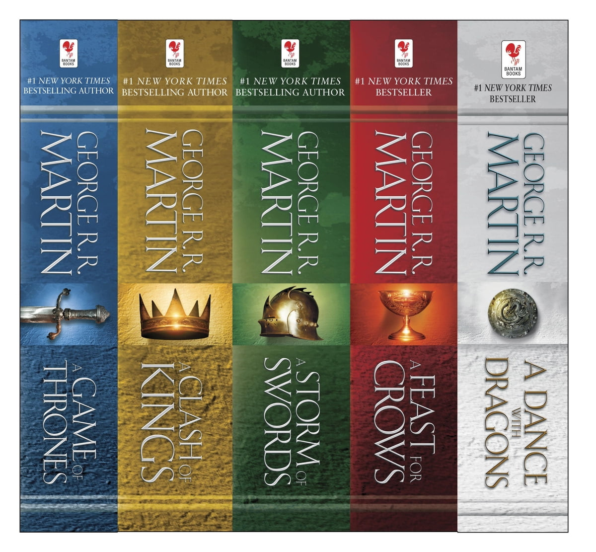 George R R Martin's A Game Of Thrones 5book Boxed Set (song Of Ice And  Fire Series) Ebook By George R R Martin  9780345535535  Rakuten Kobo