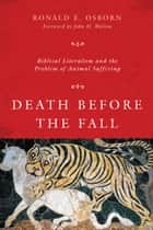 Death Before the Fall ebook by Ronald E. Osborn,John H. Walton