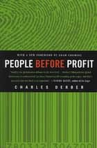 People Before Profit - The New Globalization in an Age of Terror, Big Money, and Economic Crisis ebook by Charles Derber, Noam Chomsky