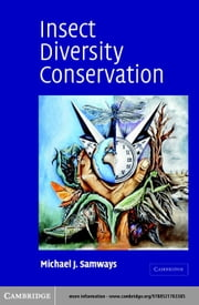 Insect Diversity Conservation ebook by Samways, Michael J.