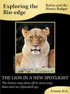 The Lion In A New Spotlight ebook by Robin and the Honey Badger