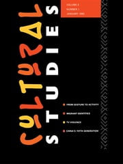 Cultural Studies - Volume 6, Issue 1 ebook by Lawrence Grossberg,Janice Radway
